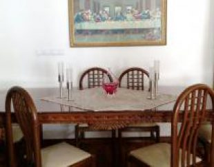 مبلمان 7 نفره، میز ناهارخوری 8 نفره تمام چوب