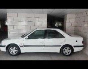 پژو پارس سفید مدل 90