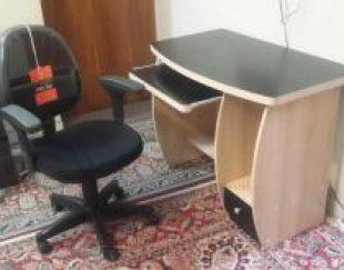 میز کامپیوتر و صندلی