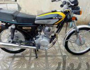 موتورسیکلت انژکتوری مدل ۹۶ بسیار تمیز