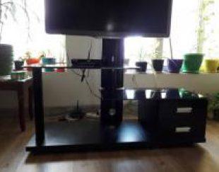 میز شیشه ای تلویزیون LED