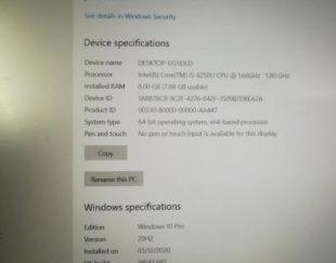 لپ تاپ لنوو مدل ideapad 520 نسل 8