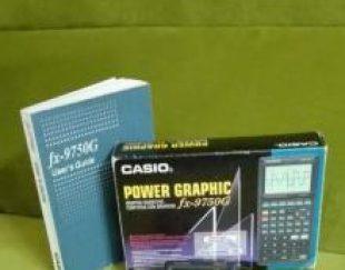 ماشین حساب مهندسی کاسیو casio fx-9750g