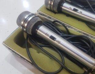 یک جفت میکروفن فلزی ژاپنی اصل