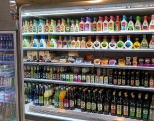 یخچال فروشگاهی پرده هوا