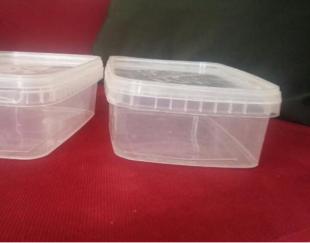 ظروف سر دار پلاستیکی