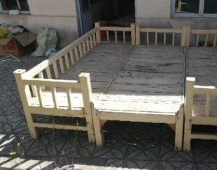 تخت سنتی 3 تکه چوبی