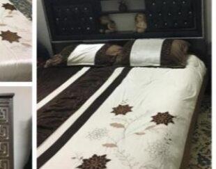 تخت دو نفره ومیز ارایشی