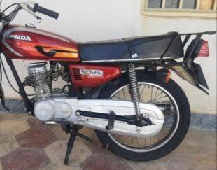 موتور سیکلت تمیز مدل 89