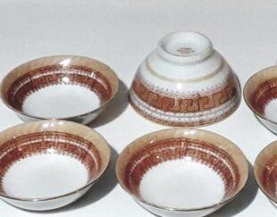 ظروف اصل وقدیمی ورساچه مارک کلبه ای چین قدمت 60تا70سال