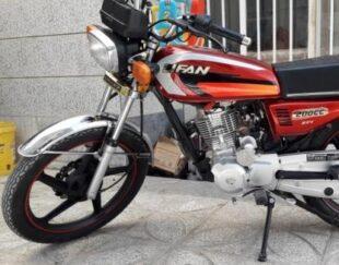 موتورسیکلت200مدل98درحدخشک
