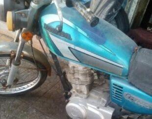 فروش موتورسیکلت مزایده ای