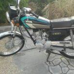 فروش موتورسیکلت کاملا تمیز +استارتی